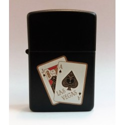 RARE ZIPPO LIGHTER COLLECTION / LAS VEGAS (DARK VERSION) V 1989 MC42355