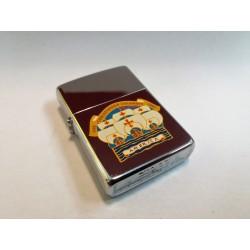 ZIPPO LIGHTER COLLECTION - AMERICA 1492 / 1992 (CRISTOFORO COLOMBO) MC42367