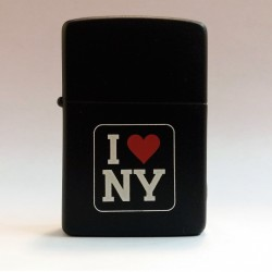 ZIPPO LIGHTER COLLECTION - I LOVE NY NEW YORK (DARK VERSION) MC42371