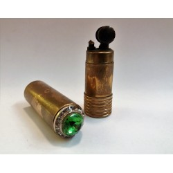 ANTIVO ACCENDINO DA DONNA - JUWEL - VINTAGE LIGHTER (GIOIELLO VERDE) MC42389