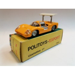 POLITOYS EXPORT N.560 CHAPARRAL 2F (GIALLO / YELLOW) SCALA 1:43 - ORIGINAL BOX