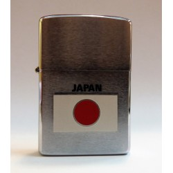 ORIGINAL ZIPPO LIGHTER COLLECTION / JAPAN FLAG (ANNO 1981) MC42555
