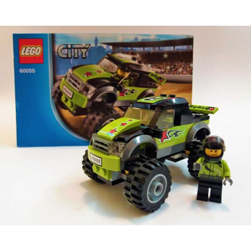 Lego City 60055 Monster Truck 100 Complete Booklet