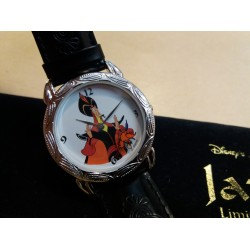 "DISNEY ALADDIN WATCH ""JAFAR"" RARE LIMITED EDITION 870/1075 (NUOVO,NEW)"
