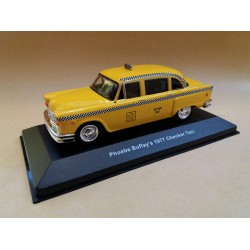 "PHOEBE BUFFAY'S 1977 CHECKER - NEW YORK TAXY - TV SERIES ""FRIENDS"" SCALA 1/43"
