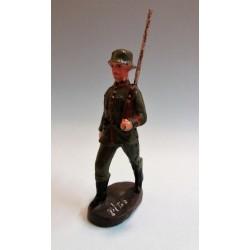 GERMAN SOLDIER WWI - SOLDATO TEDESCO - ELASTOLIN ANNI 30/40 (COMPOSIZIONE)
