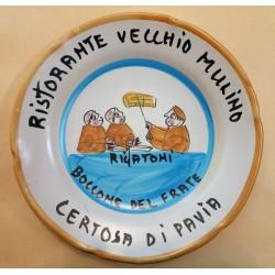 PIATTO DEL BUON RICORDO - RISTORANTE VECCHIO MULINO - CERTOSA DI PAVIA -  MC42385