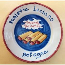 PIATTO DEL BUON RICORDO - ROSTERIA LUCIANO - BOLOGNA -  MC42386