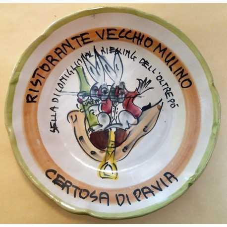 1983  PIATTO DEL BUON RICORDO  RISTORANTE VECCHIO MULINO  CERTOSA DI PAVIA  MC41393