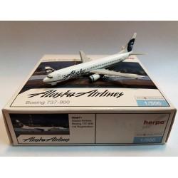 HERPA 1:500  ALASKA AIRLINES  BOEING 737-900  - 505871 NEW