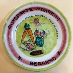 PIATTO DEL BUON RICORDO - RISTORANTE MANARINI - BERGAMO -  MC42397