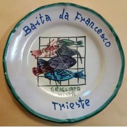PIATTO DEL BUON RICORDO - BAITA DA FRANCESCO - TRIESTE - MC41400