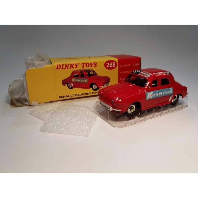 dinky atlas ref 268 DINKY TOYS voiture renault dauphine minicab rallye