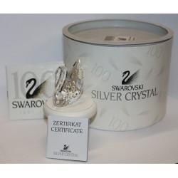 SWAROVSKI CRYSTAL - IL CIGNO DEL CENTENARIO - CENTENARY SWAN ED.1995 - ORIGINAL BOX