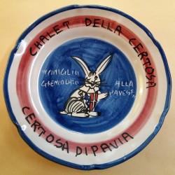PIATTO DEL BUON RICORDO - CHALET DELLA CERTOSA - CERTOSA DI PAVIA  MC41419
