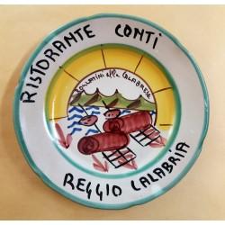 1978 - PIATTO DEL BUON RICORDO - RISTORANTE CONTI - REGGIO CALABRIA - MC41424