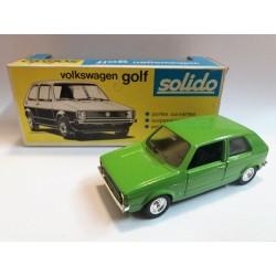 "SOLIDO N.19  WV VOLKSWAGEN ""GOLF"" (1975) SCALA 1:43 - ORIGINAL BOX"