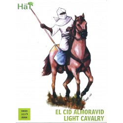 HAT 28020 - EL CID CAVALLERIA LEGGERA ALMORAVIDE - 12X MINIATURES 28mm - NEW