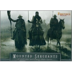 FIRE FORGE GAMES FFG003 - MOUNTED SERGEANTS - 12 FIGURES MULTI-PART 28mm (NUOVO)