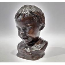 Statuetta in Bronzo / Busto...