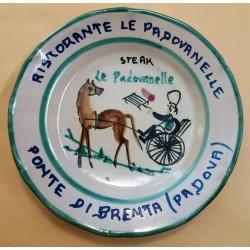 PIATTO DEL BUON RICORDO - RISTORANTE LE PADOVANELLE - PONTE DI BRENTA MC41434