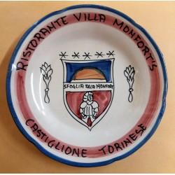 1982 PIATTO DEL BUON RICORDO RISTORANTE VILLA MONFORT'S CASTIGLIONE TORINESE MC41436