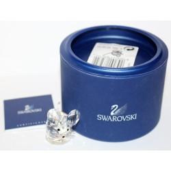 SWAROVSKI CRYSTAL -  LITTLE MOUSE - A 7606 NR 000 001 - PICCOLO TOPO - ORIGINAL BOX