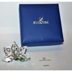 SWAROVSKI CRYSTAL SCS - ORCHID FLOWER - A 9100 NR 000 399 - ORCHIDEA - ORIGINAL BOX