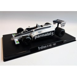 BRABHAM BT 49C NELSON PIQUET (1981) GRAND PRIX LEGGENDS OF FORMULA 1- SCALA 1:43