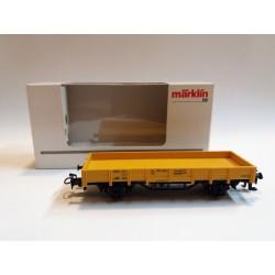MARKLIN 4471 SCHUTZWAGEN 816 DB - CARRO DI SERVIZIO SPONDE BASSE SCALA H0 - BOX