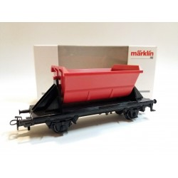 MARKLIN 4413 DB GÜTERWAGEN HOPPER WAGON / CASSONE RIBALTABILE - SCALA H0 - BOX