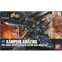 BANDAI HG BUILD FIGHTERS GUNDAM - KAMPFER AMAZING - PLASTIC MODEL KIT 1/144