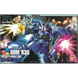 BANDAI HG BUILD FIGHTERS - DOM R35 Mr.RAL'S - GUNDAM PLASTIC MODEL KIT 1/144