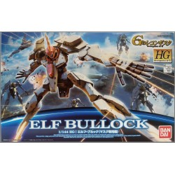BANDAI HG RECONGUISTA IN G GUNDAM - ELF BULLOCK - PLASTIC MODEL KIT 1/144