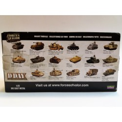 FORCES OF VALOR D-DAY U.S. M10 TANK DESTROYER (WWII NORMANDY 1944) SCALA 1:72