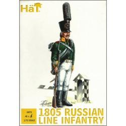 HAT 8072 - FANTERIA DI LINEA RUSSA (1805) SCALA 1/72 FIGURES MINIATURES 48X