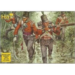 HAT 8036 - FANTERIA LEGGERA INGLESE - SCALA 1/72 FIGURES MINIATURES 48X