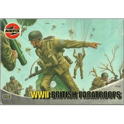 AIRFIX A01723 - WWII BRITISH PARATROOPS - 33 FIGURES SCALA1/72 (KIT COMPLETO)