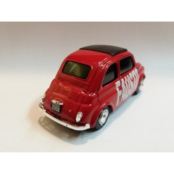 BRUMM BR005-04 FIAT 500 (FAUSTO PARTE) SERIE ELECTION DAY 2008 - SCALA 1/43