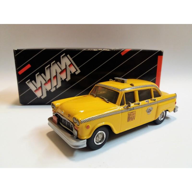 WMS 55 CHECKER CAB TAXI (NEW YORK 1974