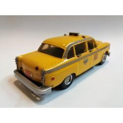 WESTERN MODELS - WMS 55 CHECKER CAB TAXI (NEW YORK 1974) SCALA 1:43 ORIGINAL BOX