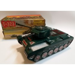 "T-323 CARRO de COMBATE ""TANQUE"" n.323 VERCOR MADE IN SPAIN - 60's TOY"