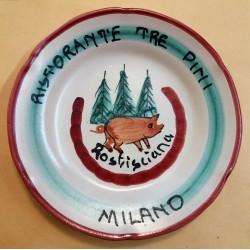 PIATTO DEL BUON RICORDO - RISTORANTE TRE PINI - MILANO  MC41440
